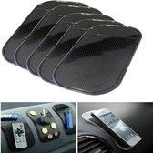 Dashboard Sticky Pads - Auto Gadget - Kleverige Gel Pad - Telefoon Accessoire - Magie Houder - Siliconen - Anti Slip Mat - 5 Stuks