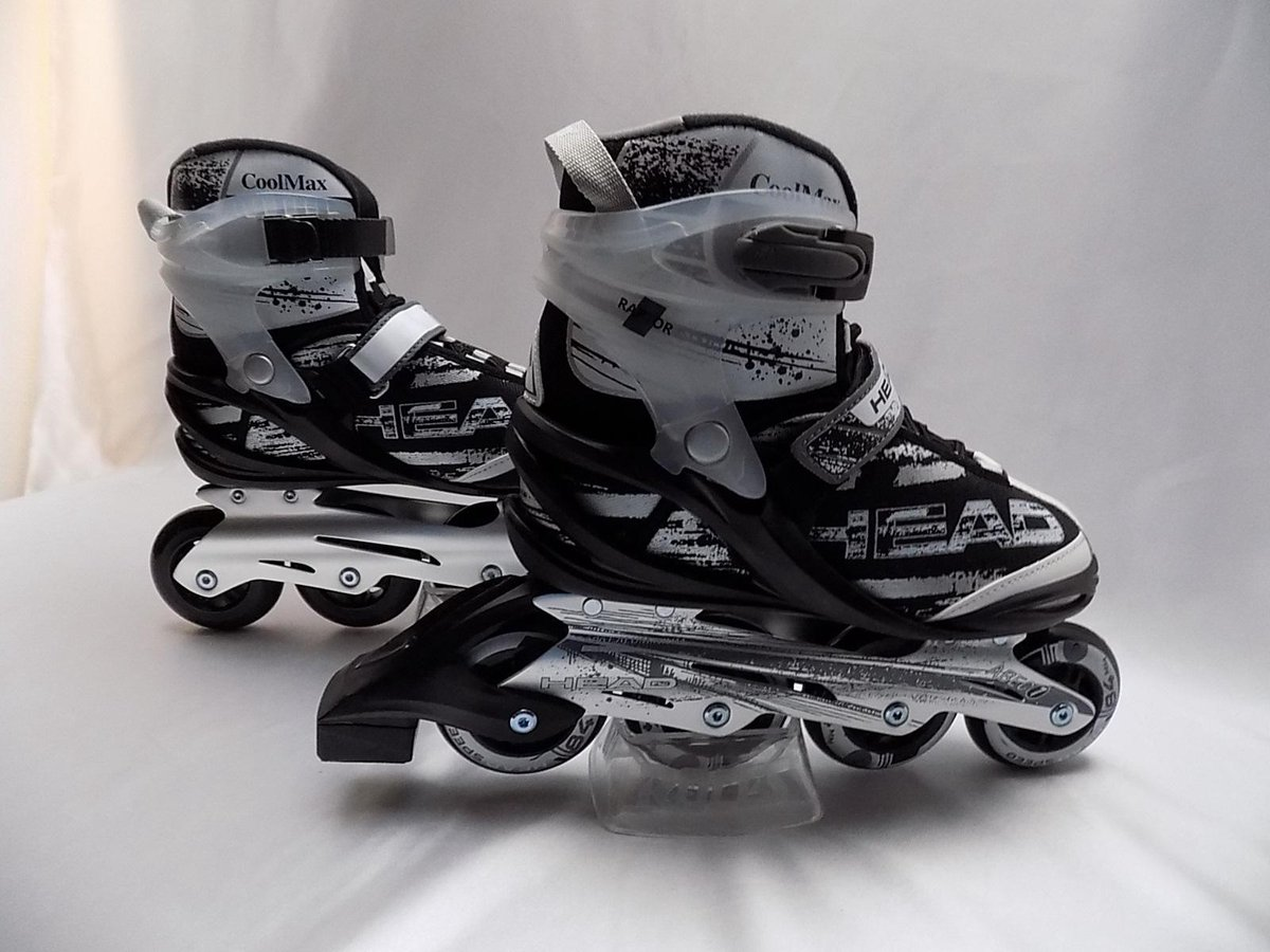 Inline skates HEAD RAPTOR zwart / wit maat 36