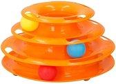 Speeltoren voor katten (inclusief 3 ballen)