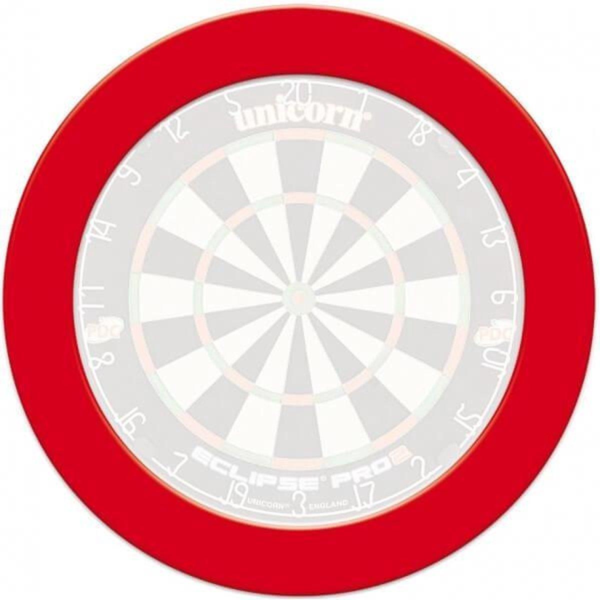 Unicorn - dartbord surround ring - slimline - rood - surround ring