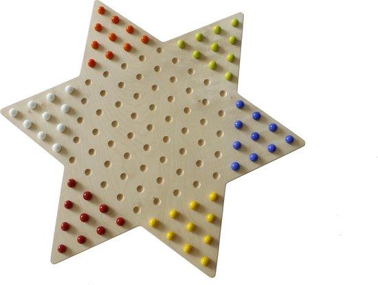 Thumbnail van een extra afbeelding van het spel Ster halma van esdoorn