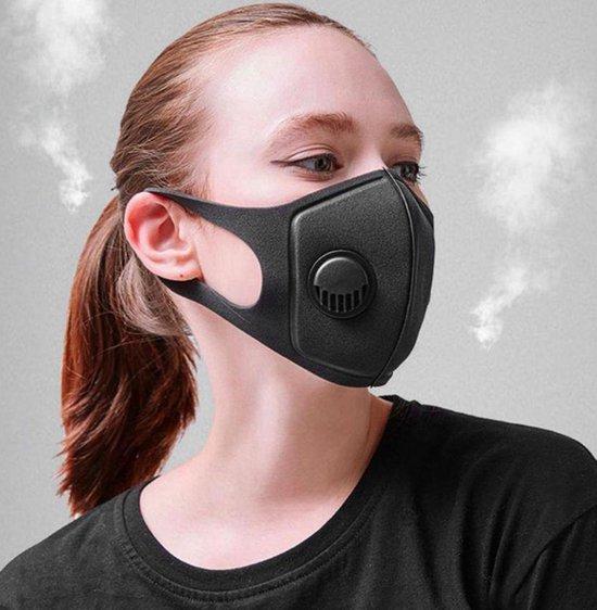 Afbeelding van Mondmasker met Valve   Mondkapje - Wasbaar