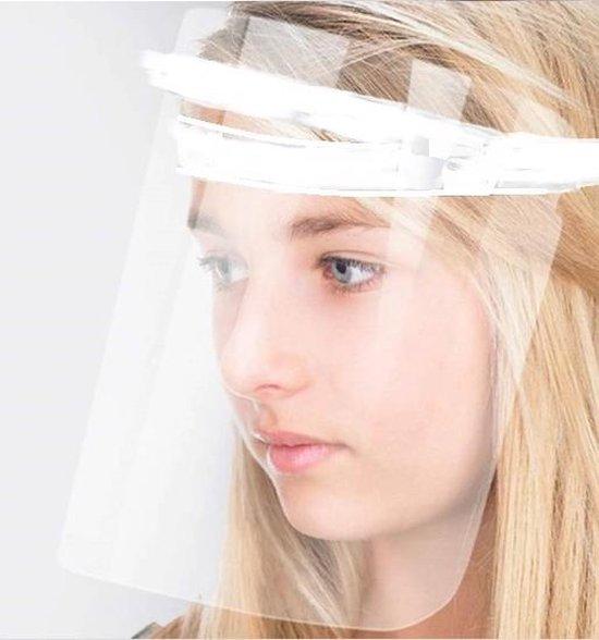 Afbeelding van Verstelbaar Gezichtscherm - 1 Stuks - Wit