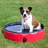 Hondenbad - Hondenzwembad - Opvouwbare Dierenzwemb