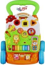 Baby Loopwagen - Activity Walker - Educatief Speelgoed - Muziek - Lopen - Duwen - Oefenen - Loopwagentje - Loopsteun - Activiteit - Looptrainer