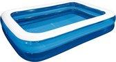 Groot Opblaaszwembad - Opblaasbaar Zwembad - Zwembad - 262cm x 175cm x 50cm – 778L