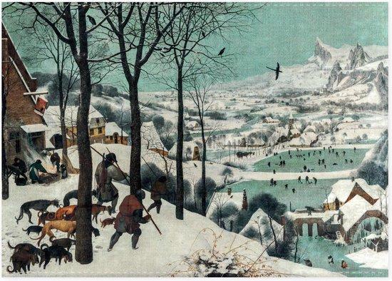 Theedoek Jagers in de sneeuw , Bruegel