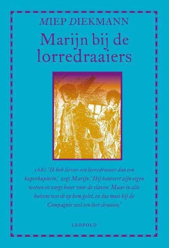 Boek cover Marijn bij de lorredraaiers van Miep Diekmann (Hardcover)