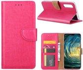 Huawei P20 Pro - Bookcase Roze - portemonee hoesje