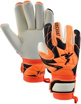 Precision Keepershandschoenen Fusion_x.3d Pro Oranje/wit/zwart Mt 8