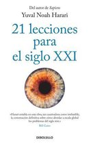 Omslag 21 lecciones para el siglo XXI / 21 Lessons for the 21st Century