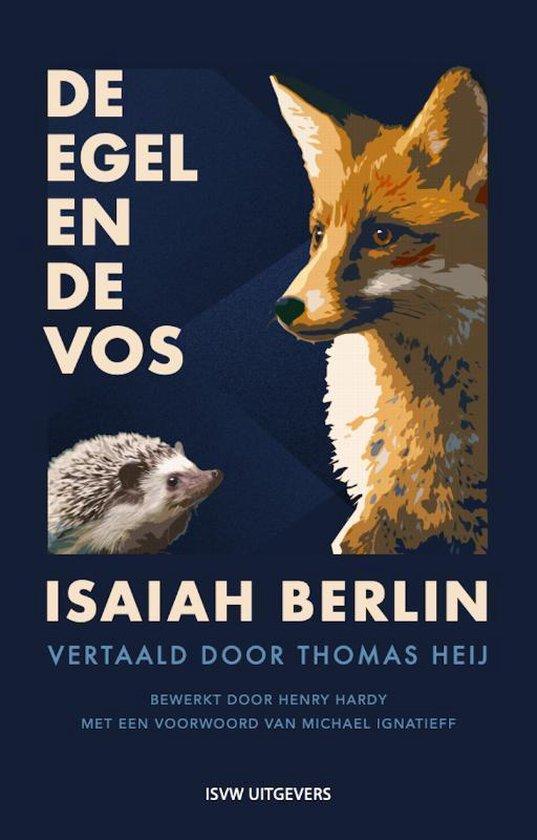 Boek cover De egel en de vos van Isaiah Berlin (Paperback)