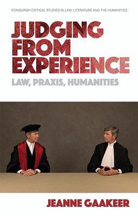 Boek cover Judging from Experience van Jeanne Gaakeer (Hardcover)