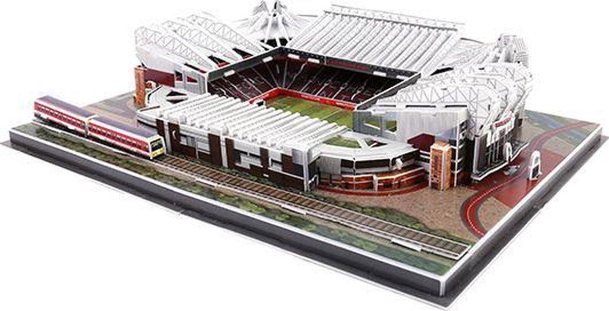 3D puzzel voetbalstadion Manchester United - Old Trafford - foam - voetbal - 3D puzzel
