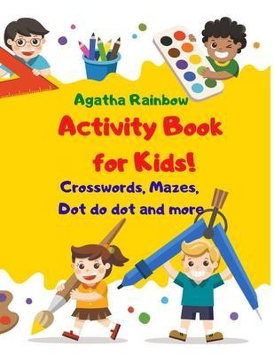 Activity Book for Kids!