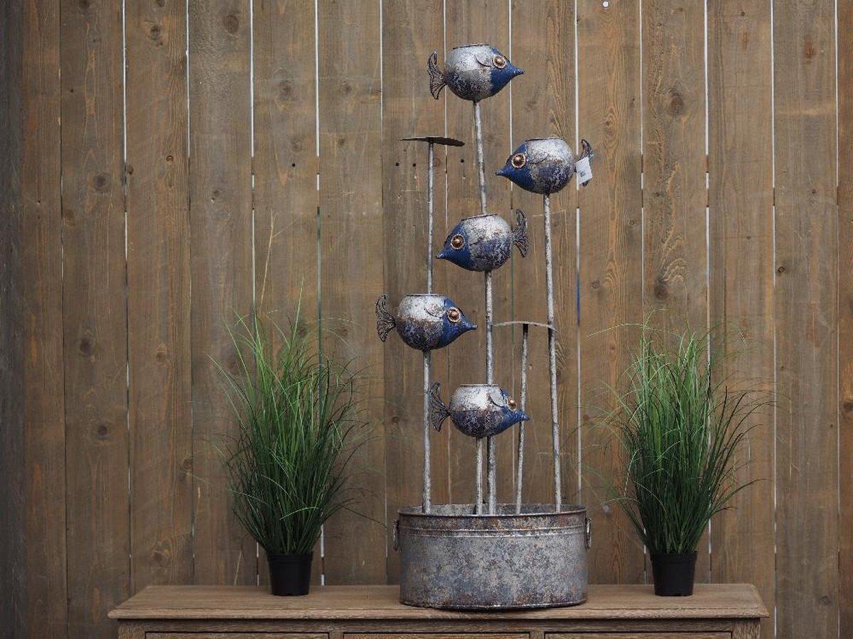 Fontein - Waterornament vissen - 123 cm hoog