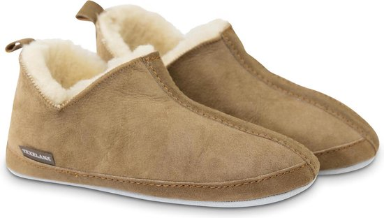 Texelana sloffen en pantoffels voor dames & heren - pantoffel van schapenvacht - model Katja - maat 39