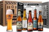 Bierproeverijpakket met 5 bieren + glas + bierproeverij