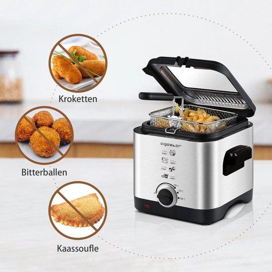 Aigostar Fries 30IZD - Frituurpan