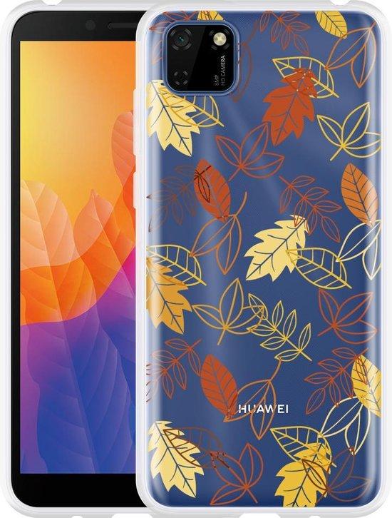Huawei Y5p Hoesje Falling Leaves
