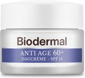Biodermal Anti Age dagcreme 60+ - Dagcrème met SPF15 tegen huidveroudering - 50ml
