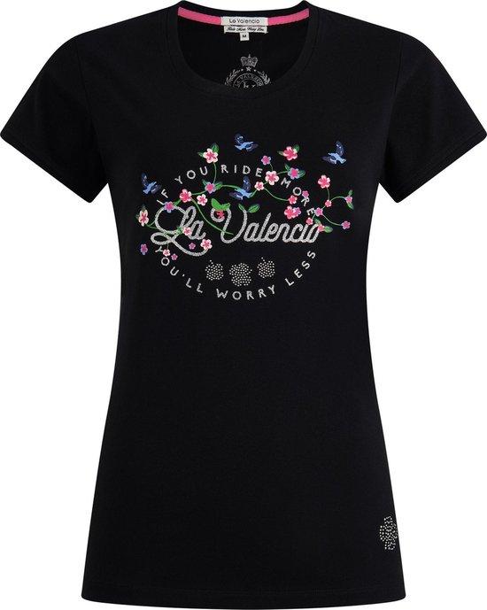 Noor jr. T-shirt Zwart 152