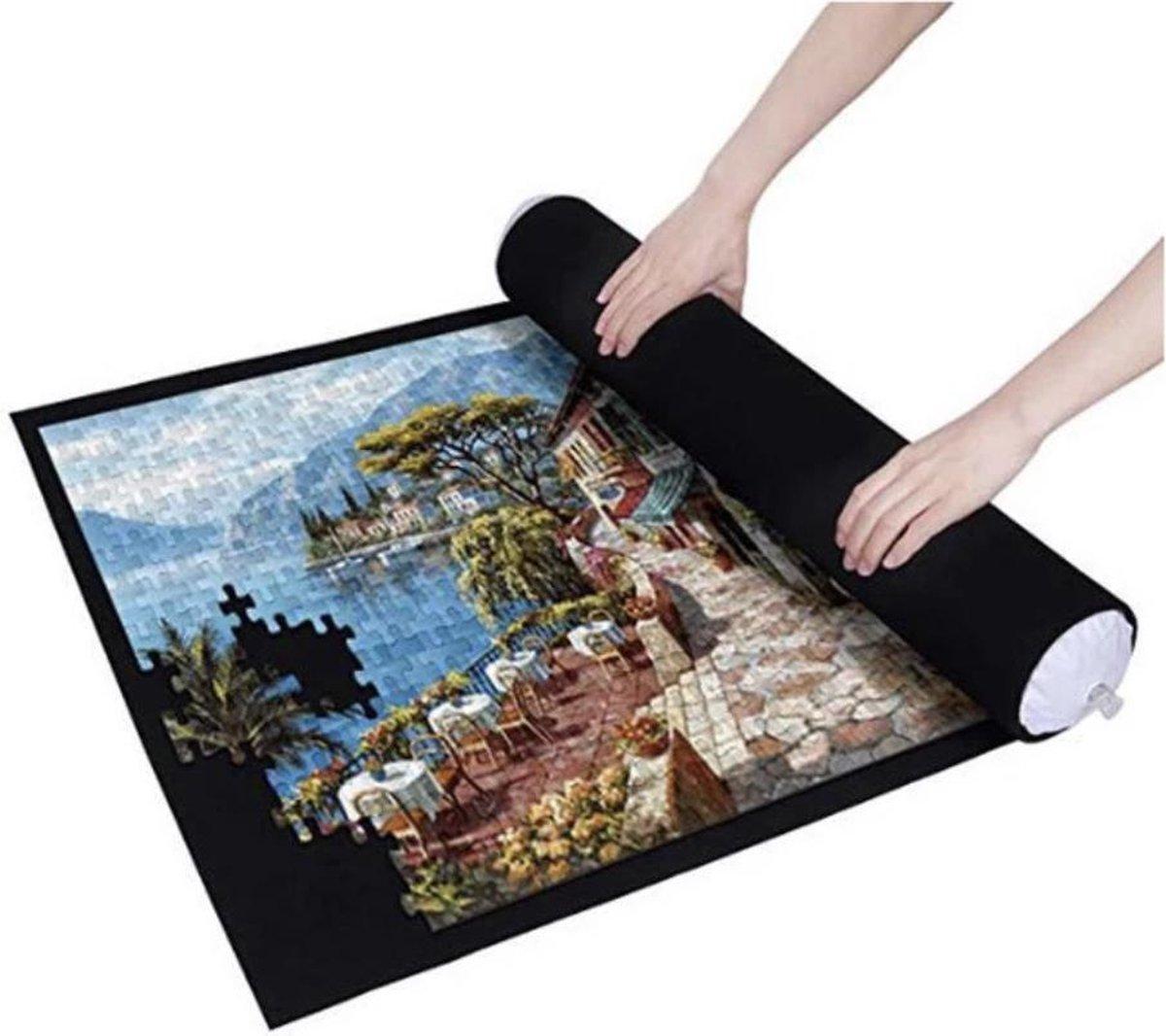 Puzzelmat set tot 1500 stukjes – Oprolbare puzzelmat inclusief hoes en pomp - Puzzelmaatje