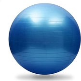 Sportsline - Gymnastiek bal - 75 cm - Blauw - Gymball - Fitness - Fitnessbal - Yoga bal