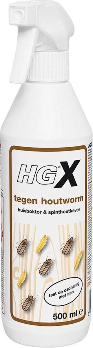 HG tegen houtworm
