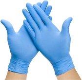 Wegwerp handschoenen Nitril - Poedervrij - blauw - maat XL - 100 stuks