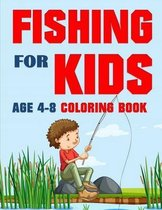 Fishing for Kids Coloring Book