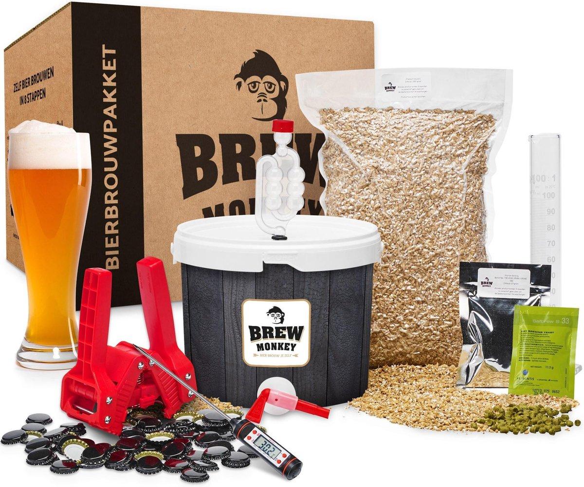 Brew Monkey Bierbrouwpakket - Compleet Weizen bier - Brouwpakket