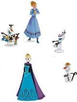 Frozen speelset Disney met o.a. Anna en sneeuwpop Frozen (Bullyland)