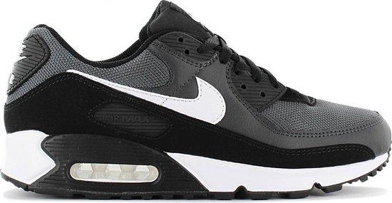 Nike Air Max 90 - Heren Schoenen Sneakers Sportschoenen Grijs-Zwart CN8490-002 - Maat EU 49.5 US 15