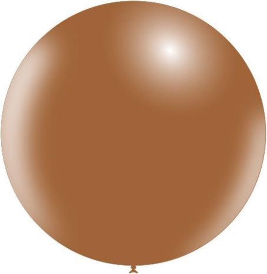 Bruine Reuze Ballon XL 91cm
