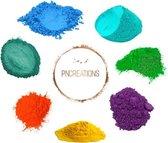 PNCreations Pigmentpoeder Fresh Color Mix | Kleurpoeder | 7 Kleuren | Epoxy | Zeep Maken | Hars | Giethars | Verftoevoeging