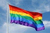 Regenboogvlag | Vlag regenboog kleuren | LGBT 150x90cm