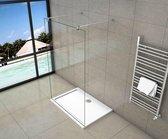 Inloopdouche Vrijstaand Blossom 900x2000 8mm Helder Glas Chroom