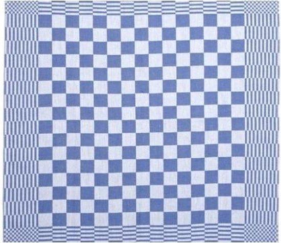 Clarysse Theedoeken Blok Mineur Blauw 65x65cm 6 stuks