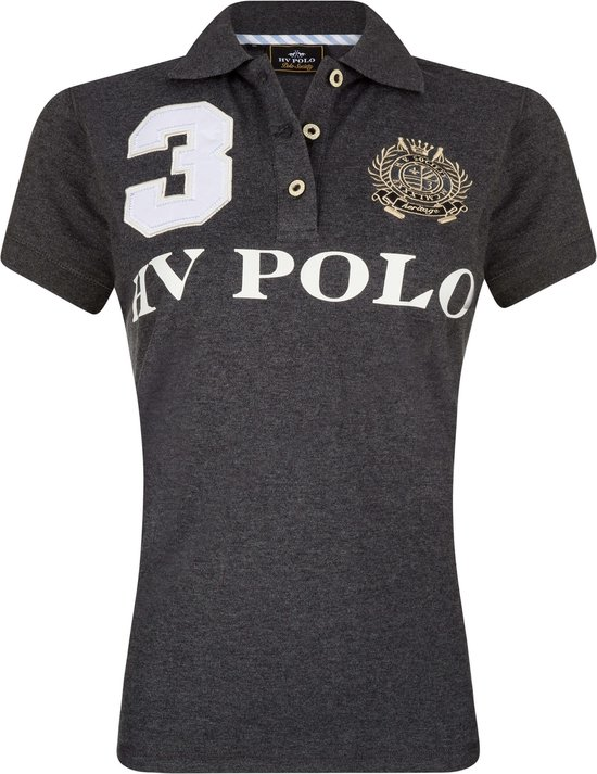 HV Polo Favouritas Eques KM - Polo Shirt − Navy − XXL