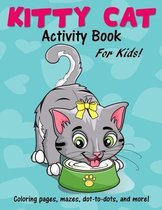 Kitty Cat Activity Book for Kids
