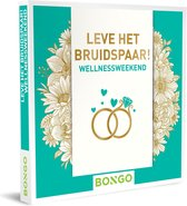 Bongo Bon Nederland - Leve het bruidspaar! – Wellnessweekend Cadeaubon - Cadeaukaart cadeau voor koppels | 82 stijlvolle hotels met wellnessfaciliteiten