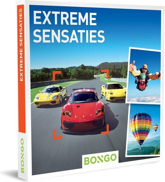 Bongo Bon Nederland - Extreme Sensaties Cadeaubon - Cadeaukaart cadeau voor man of vrouw | 256 activiteiten: ballonvaart, helikoptervlucht, circuitrace, skydive en meer