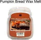 Village Candle - Pumpkin Bread - Wax Melt - 48 Branduren - Bruin