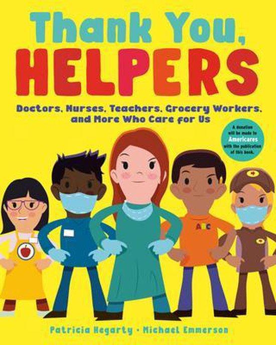 Boek cover Thank You, Helpers van Patricia Hegarty (Paperback)