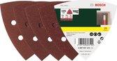 Bosch 25-delige schuurbladenset voor deltaschuurmachine - klithechting - korrel 240