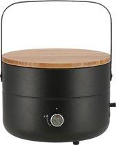 Mestic MB-100 Mini Chef Barbecue - Ø 31 cm - Automatische ontsteking