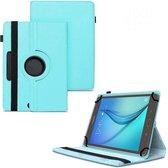 Universele Tablet Hoes voor 10 inch Tablet - 360° draaibaar - Blauw