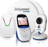 Luvion Easy Babyfoon met Camera + Babysense 7 Sensormatje - 5 Sterren Veiligheidsvoordeelbundel