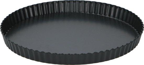 Alpina Bakvorm Quiche zwart - 28 x 3,5 cm